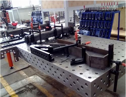铆焊平板平台案例