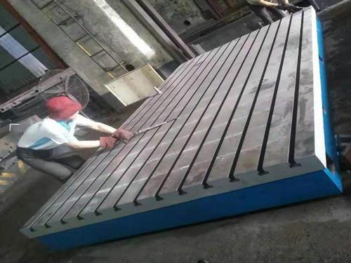 铸铁平台维修